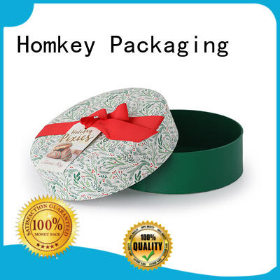 Homkey Packaging nice chocolate gift boxes owner for factory