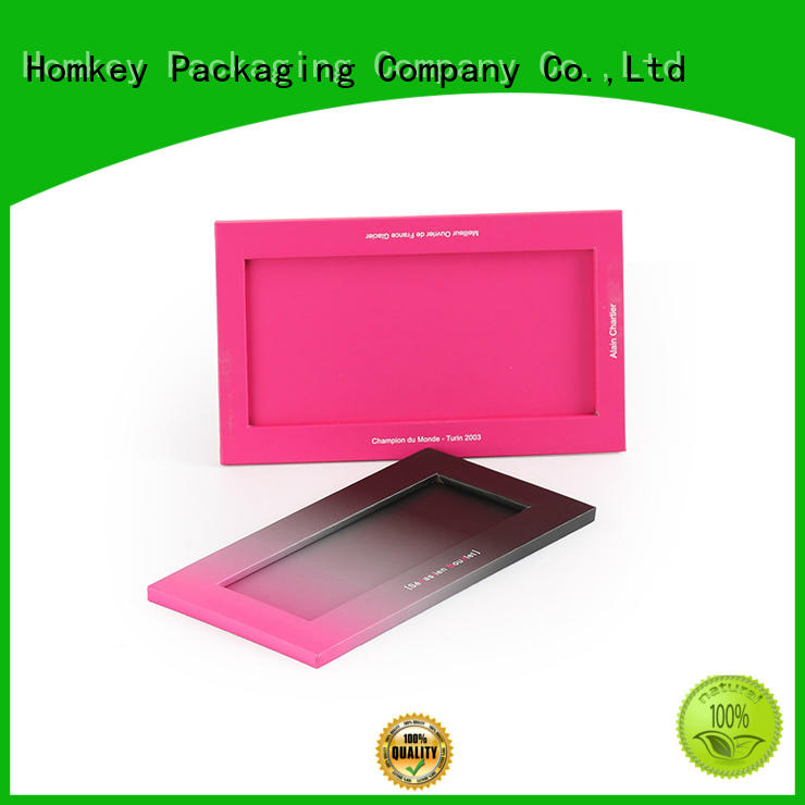 Homkey Packaging best custom chocolate boxes order now for gift packing