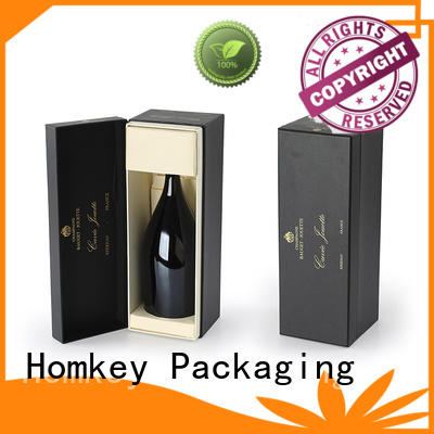 nice wine bottle gift boxes cardboard certifications for gift packing