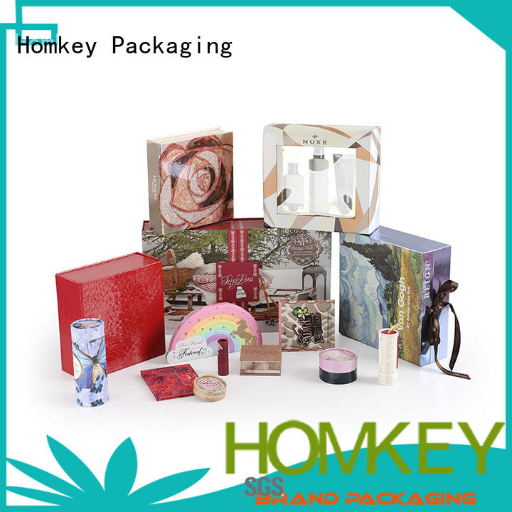 Homkey Packaging cosmetic makeup packaging boxes owner for Perfume