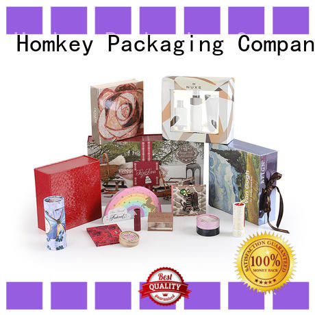Homkey Packaging industry cosmetic packaging boxes supplier for maquillage