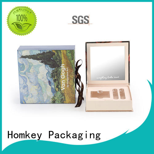 Homkey Packaging palette makeup packaging boxes wholesale for cosmetics