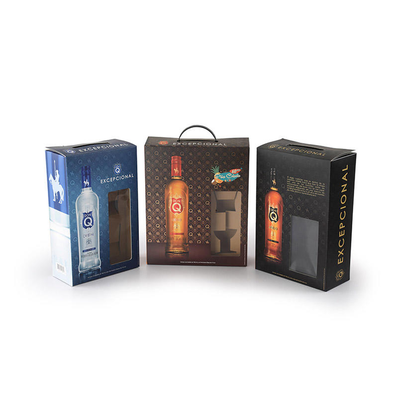 Carboard Spirits Package