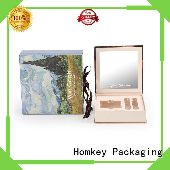 Homkey Packaging cosmetic cosmetic packaging boxes factory for beauty items
