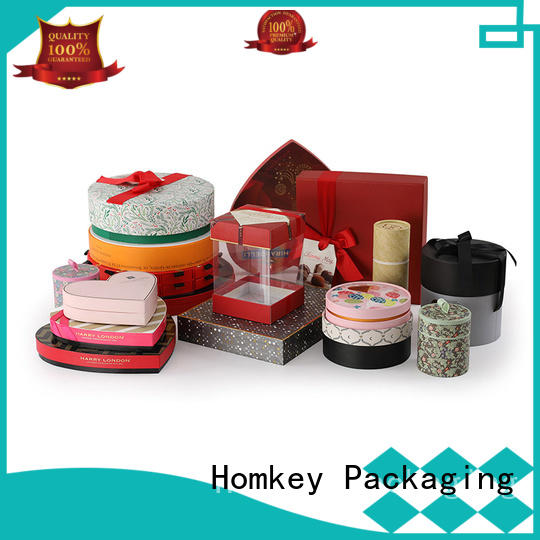 Homkey Packaging base chocolate gift boxes owner for product packing