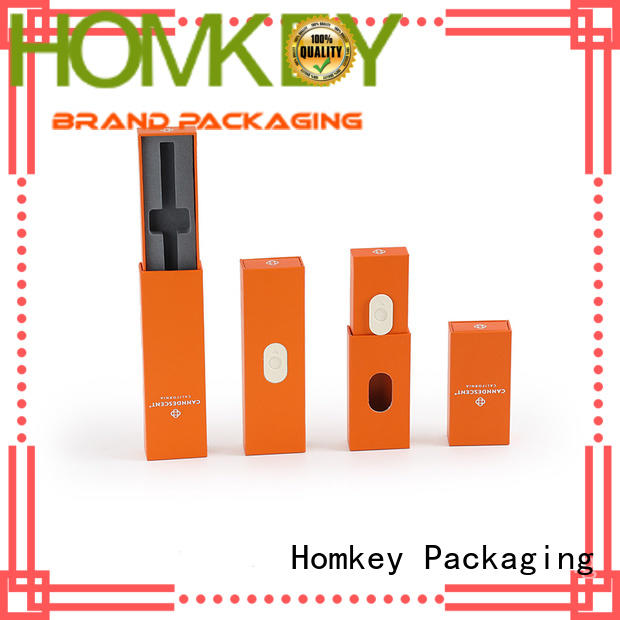 Homkey Packaging box custom cardboard boxes for wholesale for medical