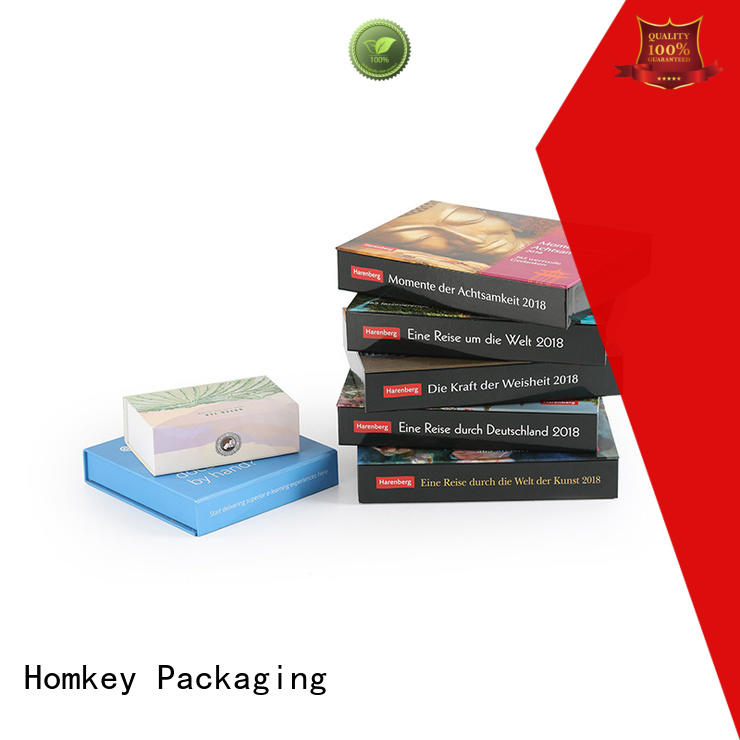 Homkey Packaging plastic custom gift boxes experts for gift packing