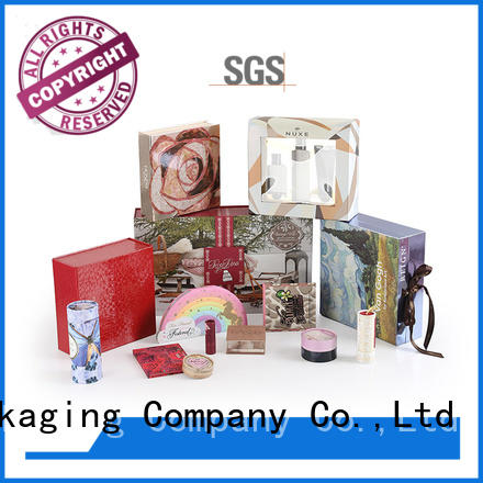 Homkey Packaging best cosmetic packaging boxes wholesale in different shape for beauty items
