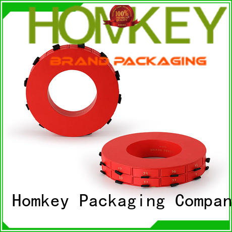 Homkey Packaging low cost chocolate packing boxes free design for factory