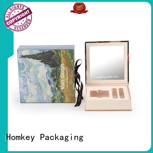 Homkey Packaging paperboarad cosmetic box packaging suppliers supplier for beauty items