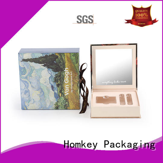 Homkey Packaging perfume cosmetic packaging boxes wholesale in different shape for Perfume