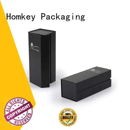 Homkey Packaging vodka wine bottle packaging certifications for wire packing