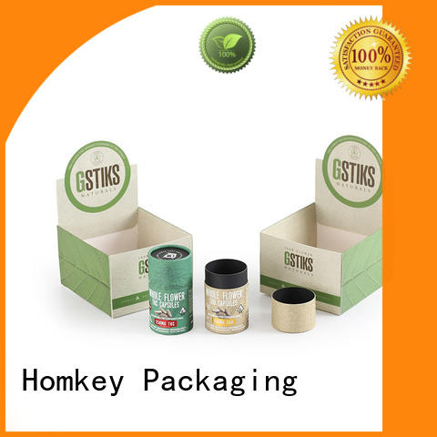 Homkey Packaging low cost custom cardboard boxes free design for hospital