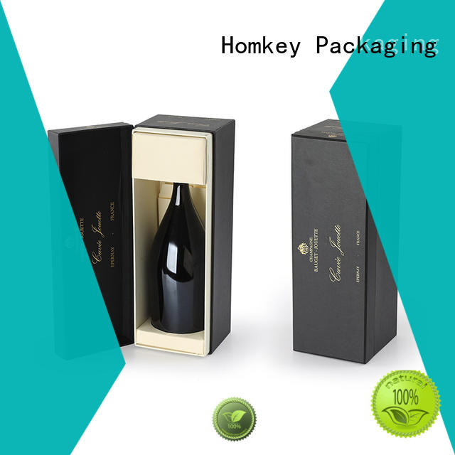 Homkey Packaging best wine gift box experts for wire packing