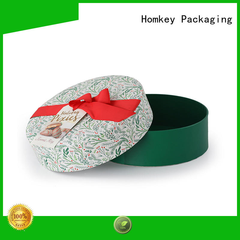 Homkey Packaging nice custom chocolate boxes owner for factory