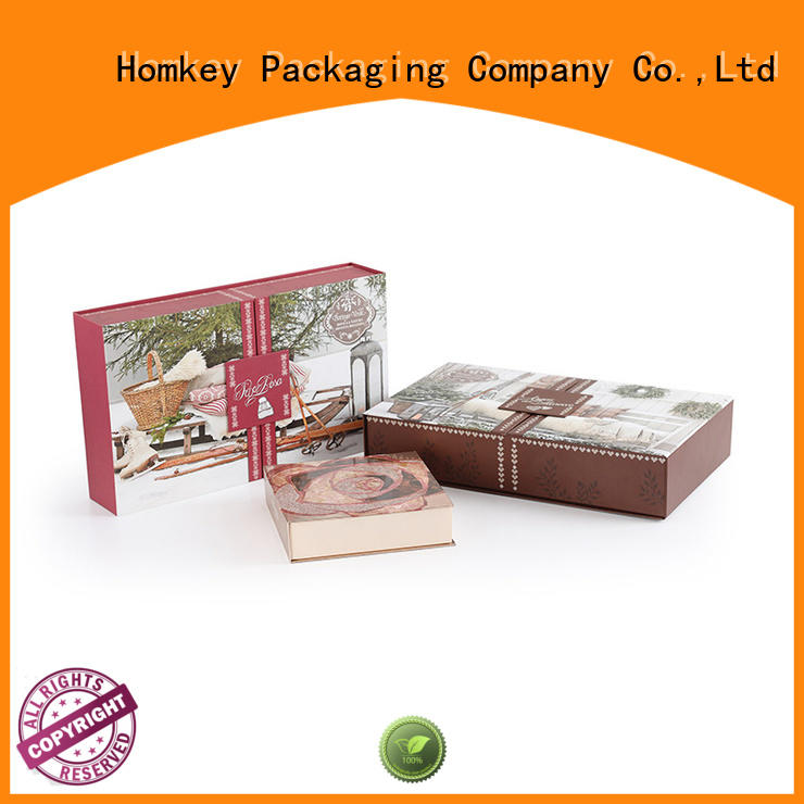 Homkey Packaging awesome cosmetic box wholesale for skincare items