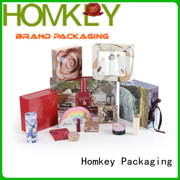 Homkey Packaging superior makeup packaging boxes factory for beauty items
