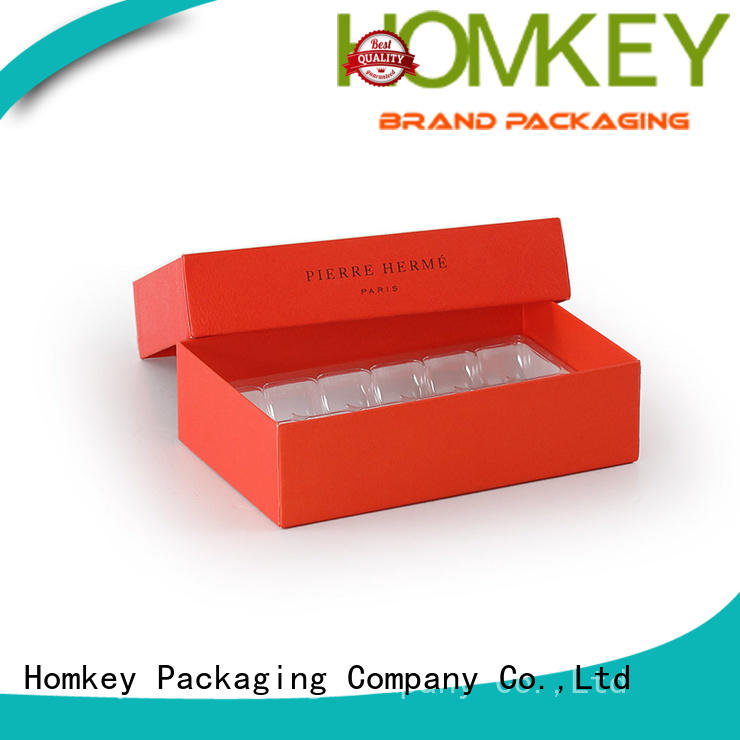 Homkey Packaging heart chocolate packaging owner for gift packing
