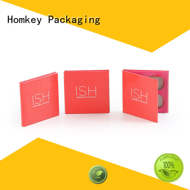 Homkey Packaging cosmetic cosmetic box in different shape for Perfume