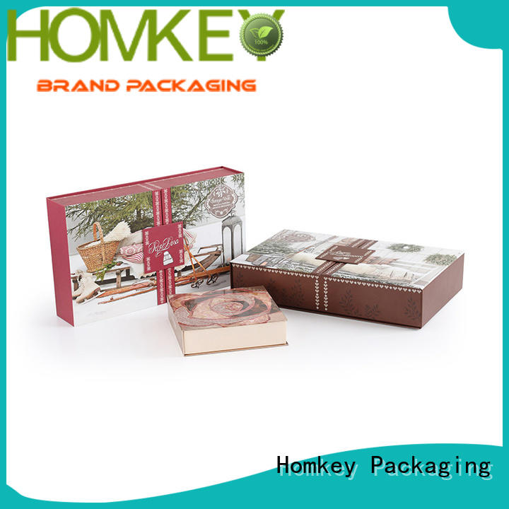 Homkey Packaging quality cosmetic packaging boxes owner for beauty items