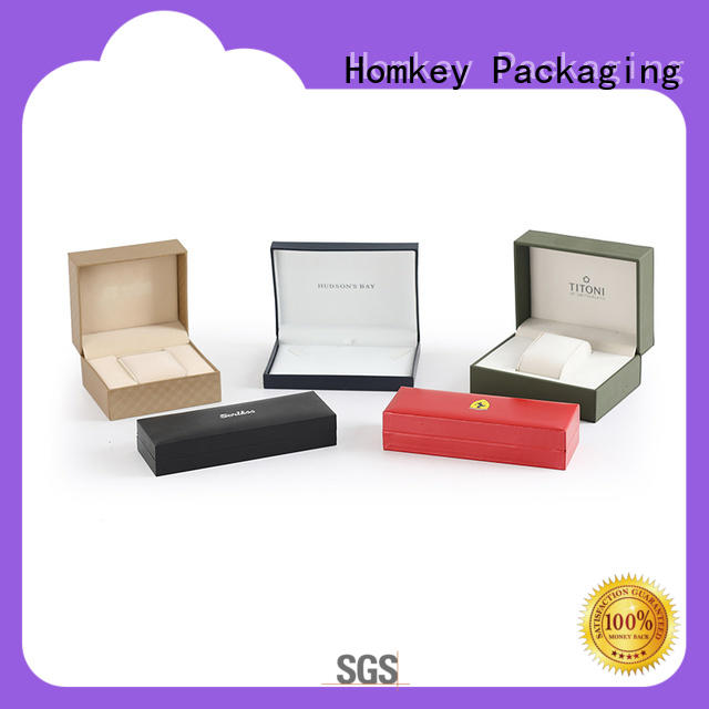 Homkey Packaging popular jewelry boxes wholesale long-term-use for gift packing