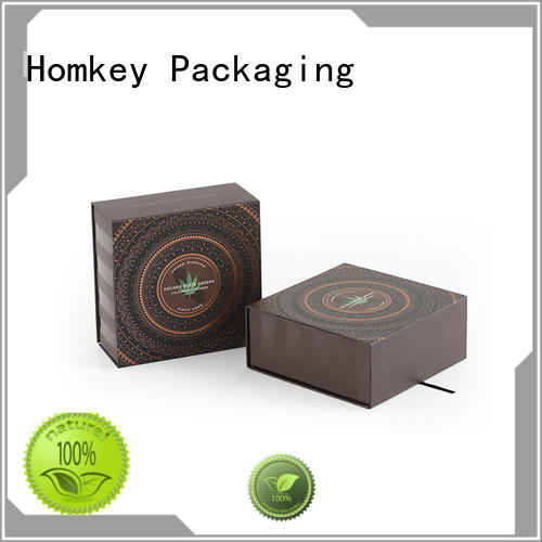 Homkey Packaging gift custom cardboard boxes from manufacturer for hospital