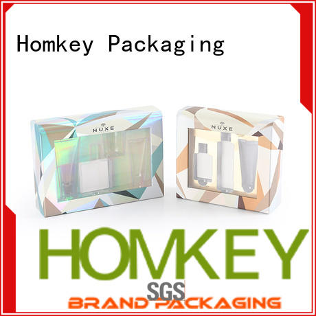 printed makeup packaging boxes paperboarad supplier for beauty items