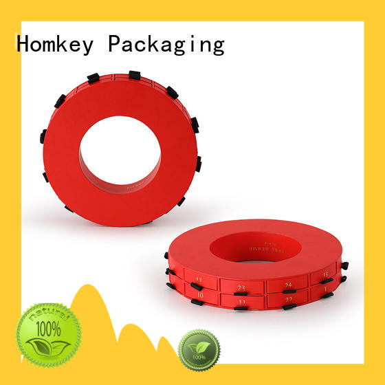 Homkey Packaging pallet chocolate packing boxes supplier for gift wrapping