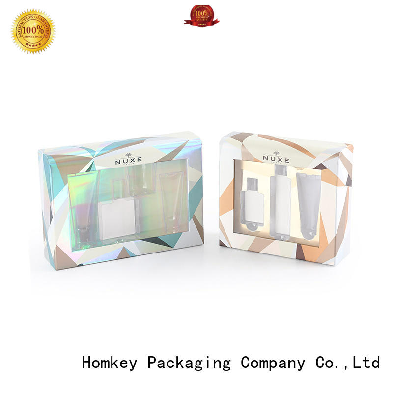 Homkey Packaging luxury cosmetic box packaging suppliers experts for cosmetics