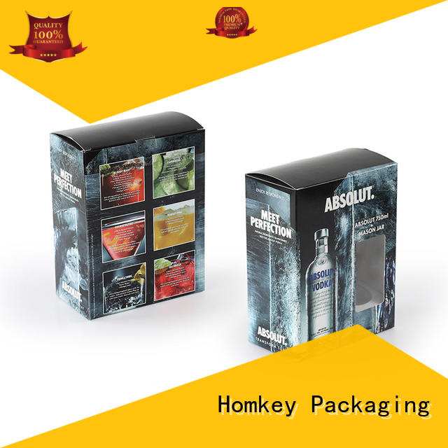best spirits box package owner for gift packing