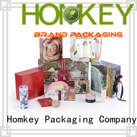 Homkey Packaging newly cosmetic box packaging suppliers experts for cosmetics