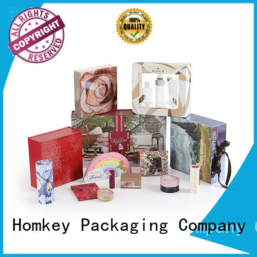 Homkey Packaging fine- quality custom makeup boxes supplier for Perfume
