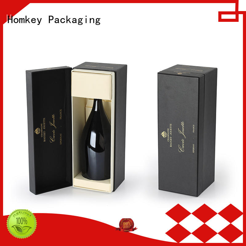 Homkey Packaging fine- quality wine packing boxes long-term-use for gift wrapping