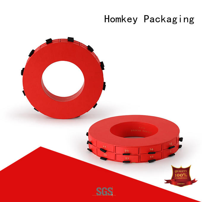 Homkey Packaging lid custom printed boxes long-term-use for factory