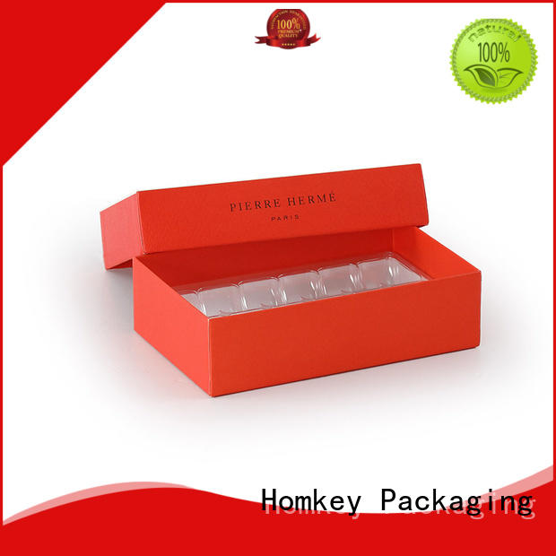 Homkey Packaging shape cheap chocolate boxes long-term-use for gift packing
