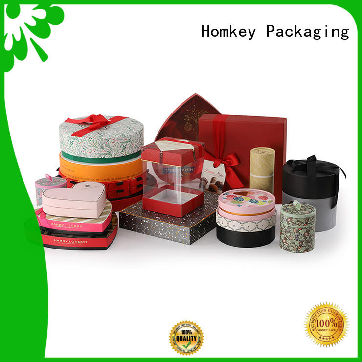 Homkey Packaging boxes food packaging boxes owner for gift packing