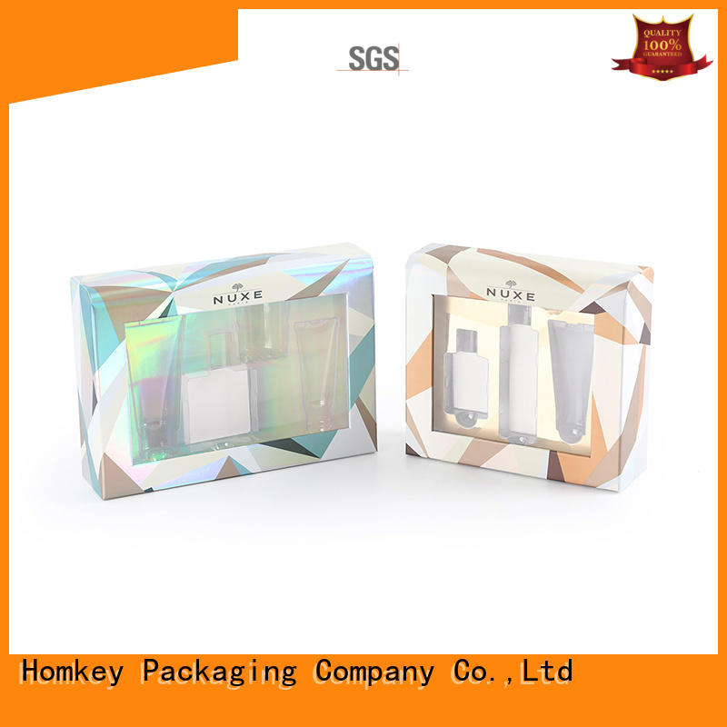 Homkey Packaging superior custom makeup boxes supplier for maquillage