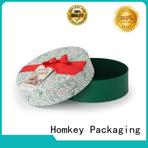 Homkey Packaging low cost custom printed boxes owner for gift packing
