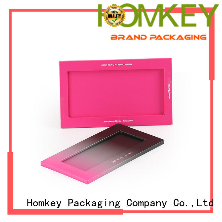 Homkey Packaging shape chocolate packing boxes widely-use for product packing
