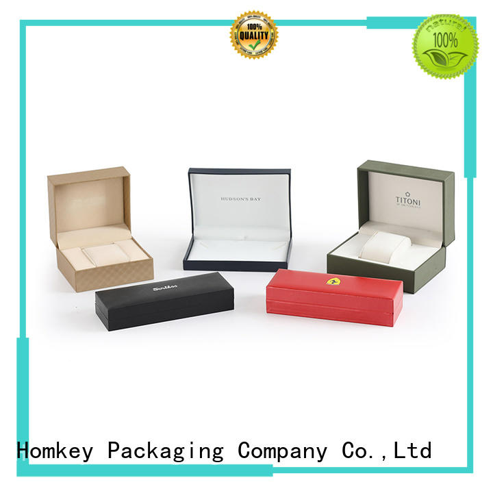 Homkey Packaging boxes jewelry boxes wholesale factory for gift wrapping