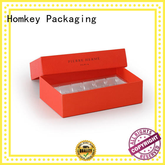 Homkey Packaging hot-sale custom chocolate boxes long-term-use for gift wrapping