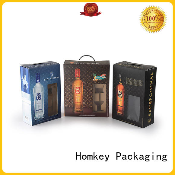 Homkey Packaging package wine gift box experts for gift wrapping