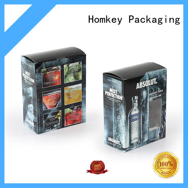 Homkey Packaging superior wine gift box widely-use for wire packing