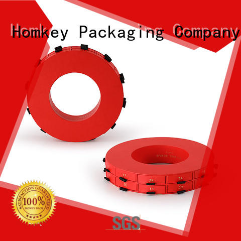 Homkey Packaging chocolate custom printed boxes long-term-use for gift wrapping