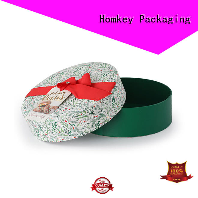 Homkey Packaging cake food packaging boxes experts for gift wrapping