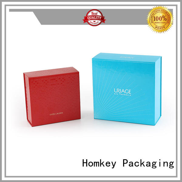 Homkey Packaging rigid custom packaging boxes in different shape for skincare items