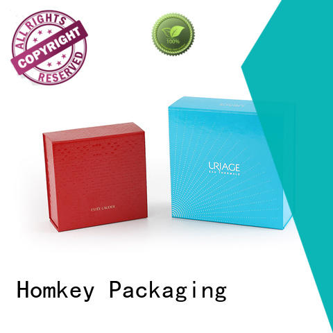 Homkey Packaging candle custom packaging boxes wholesale for skincare items