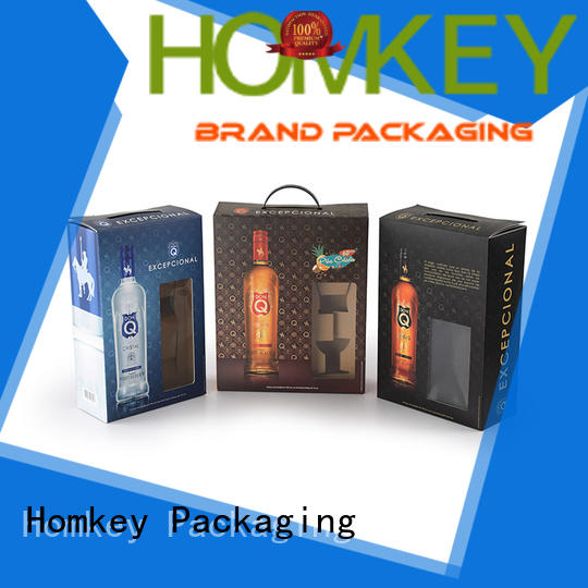 new-arrival spirits box package widely-use for gift packing