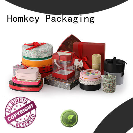 Homkey Packaging newly chocolate packing boxes free design for gift packing