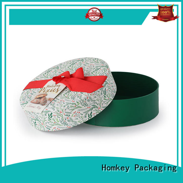 Homkey Packaging paperboard food packaging boxes widely-use for gift wrapping